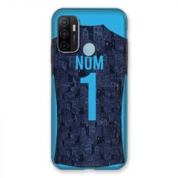 Coque Pour Oppo A53 / A53S Personnalisee Maillot Football Olympique Marseille Exterieur