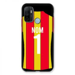 Coque Pour Oppo A53 / A53S Personnalisee Maillot Football RC Lens