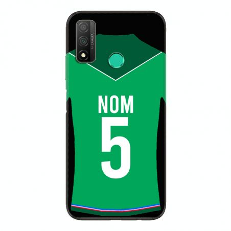 Coque Pour Huawei P Smart (2020) Personnalisee Maillot Football AS Saint Etienne