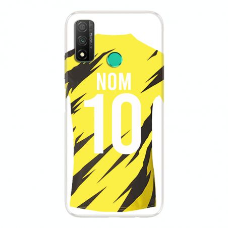 Coque Pour Huawei P Smart (2020) Personnalisee Maillot Football Borussia Dortmund