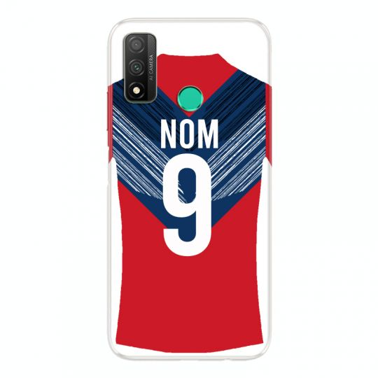 Coque Pour Huawei P Smart (2020) Personnalisee Maillot Football LOSC Lille