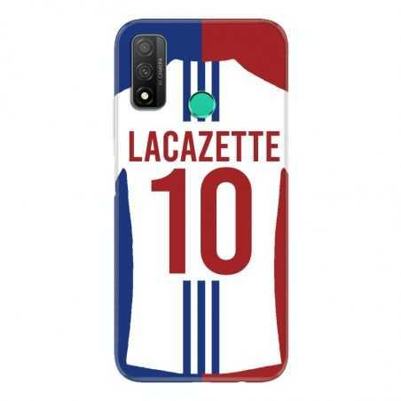Coque Pour Huawei P Smart (2020) Personnalisee Maillot Football Olympique Lyonnais Domicile