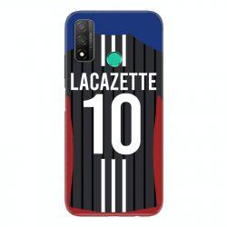 Coque Pour Huawei P Smart (2020) Personnalisee Maillot Football Olympique Lyonnais Exterieur