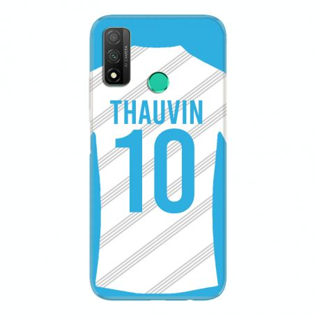 Coque Pour Huawei P Smart (2020) Personnalisee Maillot Football Olympique Marseille Domicile