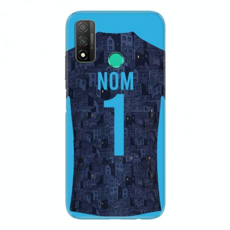 Coque Pour Huawei P Smart (2020) Personnalisee Maillot Football Olympique Marseille Exterieur