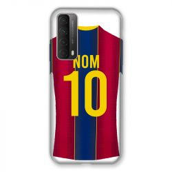Coque Pour Huawei P Smart (2021) Personnalisee Maillot Football FC Barcelone