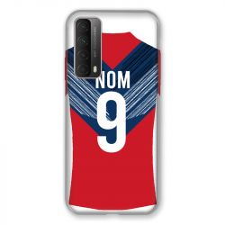 Coque Pour Huawei P Smart (2021) Personnalisee Maillot Football LOSC Lille