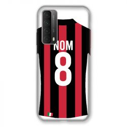 Coque Pour Huawei P Smart (2021) Personnalisee Maillot Football Milan AC