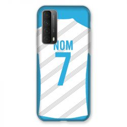 Coque Pour Huawei P Smart (2021) Personnalisee Maillot Football Olympique Marseille Domicile