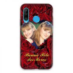 Coque Pour Huawei P30 Lite Personnalisee Fete Des Meres Roses Rouges