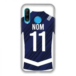 Coque Pour Huawei P30 Lite Personnalisee Maillot Footbal Girondins Bordeaux