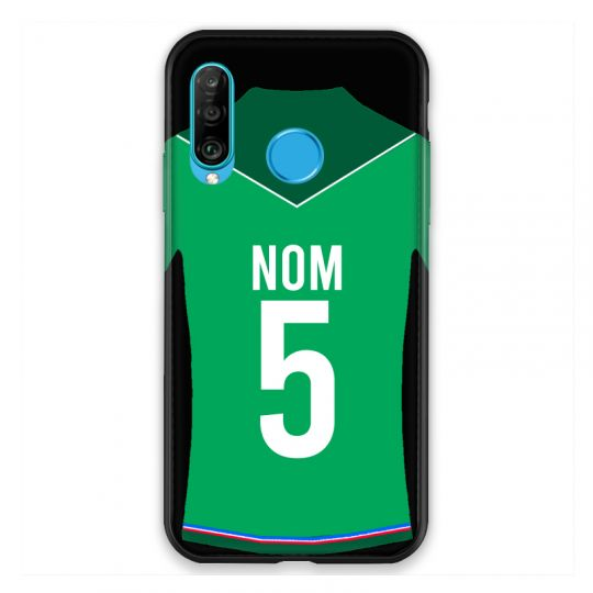 Coque Pour Huawei P30 Lite Personnalisee Maillot Football AS Saint Etienne