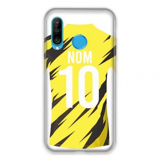 Coque Pour Huawei P30 Lite Personnalisee Maillot Football Borussia Dortmund
