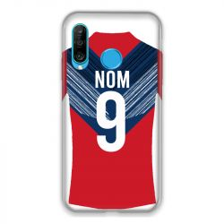 Coque Pour Huawei P30 Lite Personnalisee Maillot Football LOSC Lille