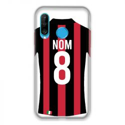Coque Pour Huawei P30 Lite Personnalisee Maillot Football Milan AC