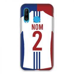 Coque Pour Huawei P30 Lite Personnalisee Maillot Football Olympique Lyonnais Domicile