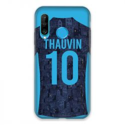 Coque Pour Huawei P30 Lite Personnalisee Maillot Football Olympique Marseille Exterieur