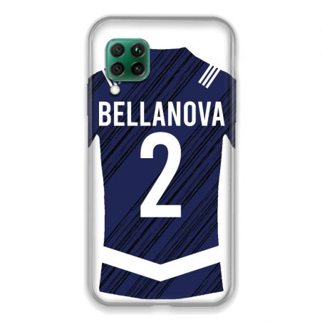 Coque Pour Huawei P40 Lite 4G Personnalisee Maillot Footbal Girondins Bordeaux
