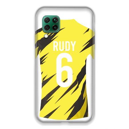 Coque Pour Huawei P40 Lite 4G Personnalisee Maillot Football Borussia Dortmund