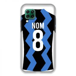 Coque Pour Huawei P40 Lite 4G Personnalisee Maillot Football FC Inter Milan