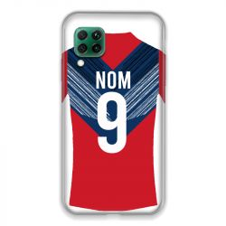 Coque Pour Huawei P40 Lite 4G Personnalisee Maillot Football LOSC Lille