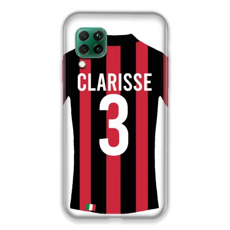 Coque Pour Huawei P40 Lite 4G Personnalisee Maillot Football Milan AC
