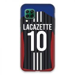 Coque Pour Huawei P40 Lite 4G Personnalisee Maillot Football Olympique Lyonnais Exterieur