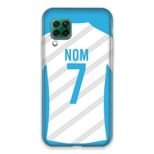 Coque Pour Huawei P40 Lite 4G Personnalisee Maillot Football Olympique Marseille Domicile