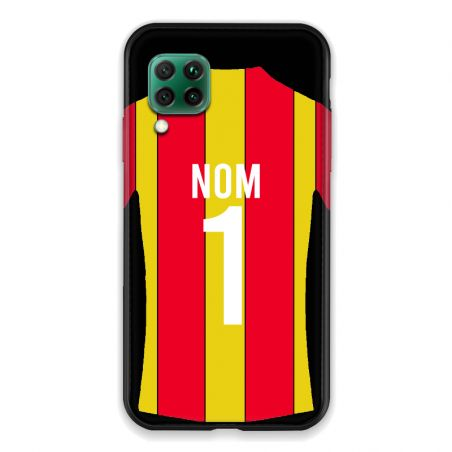 Coque Pour Huawei P40 Lite 4G Personnalisee Maillot Football RC Lens