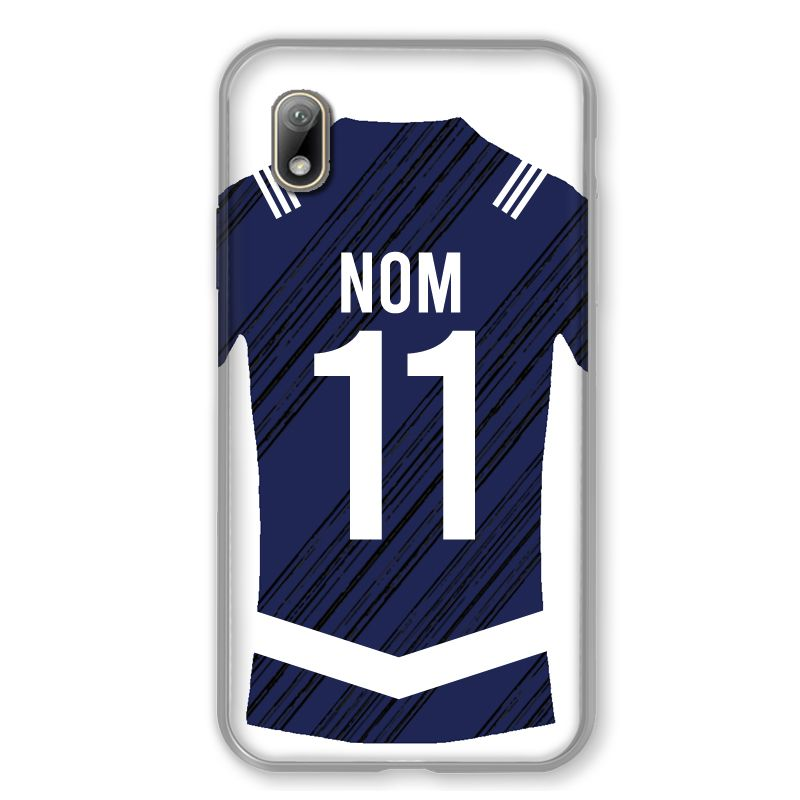 Coque Pour Huawei Y5 (2019) Personnalisee Maillot Footbal Girondins Bordeaux