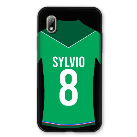 Coque Pour Huawei Y5 (2019) Personnalisee Maillot Football AS Saint Etienne