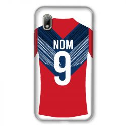 Coque Pour Huawei Y5 (2019) Personnalisee Maillot Football LOSC Lille
