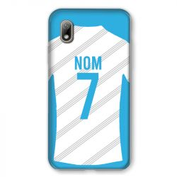 Coque Pour Huawei Y5 (2019) Personnalisee Maillot Football Olympique Marseille Domicile