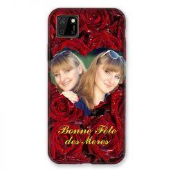 Coque Pour Huawei Y5P Personnalisee Fete Des Meres Roses Rouges