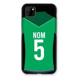 Coque Pour Huawei Y5P Personnalisee Maillot Football AS Saint Etienne