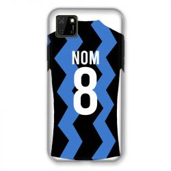 Coque Pour Huawei Y5P Personnalisee Maillot Football FC Inter Milan