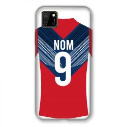 Coque Pour Huawei Y5P Personnalisee Maillot Football LOSC Lille