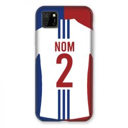 Coque Pour Huawei Y5P Personnalisee Maillot Football Olympique Lyonnais Domicile