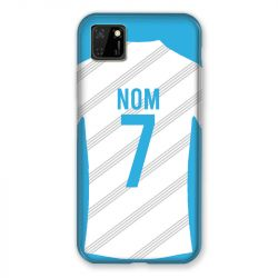 Coque Pour Huawei Y5P Personnalisee Maillot Football Olympique Marseille Domicile