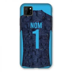 Coque Pour Huawei Y5P Personnalisee Maillot Football Olympique Marseille Exterieur