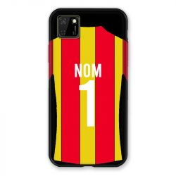 Coque Pour Huawei Y5P Personnalisee Maillot Football RC Lens