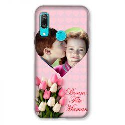 Coque Pour Huawei Y6 (2019) / Y6 Pro (2019) Personnalisee Fete Des Meres Coeurs Roses