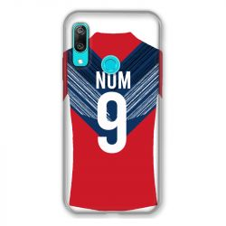 Coque Pour Huawei Y6 (2019) / Y6 Pro (2019) Personnalisee Maillot Football LOSC Lille
