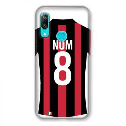 Coque Pour Huawei Y6 (2019) / Y6 Pro (2019) Personnalisee Maillot Football Milan AC