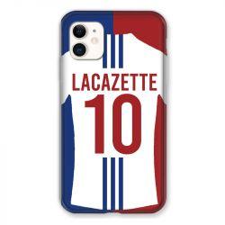 Coque Pour Iphone 11 (6.1) Personnalisee Maillot Football Olympique Lyonnais Domicile