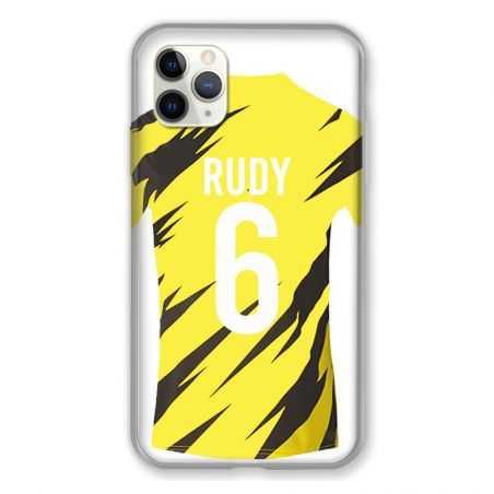 Coque Pour Iphone 11 Pro Max (6,5) Personnalisee Maillot Football Borussia Dortmund