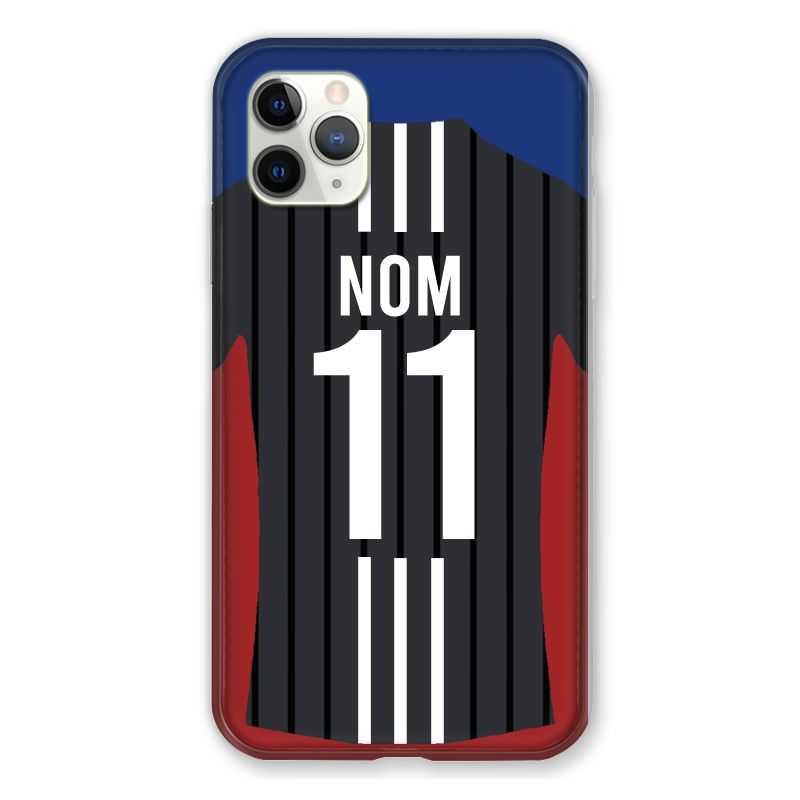 Coque Pour Iphone 11 Pro Max (6,5) Personnalisee Maillot Football Olympique Lyonnais Exterieur