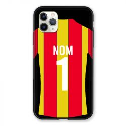 Coque Pour Iphone 11 Pro Max (6,5) Personnalisee Maillot Football RC Lens