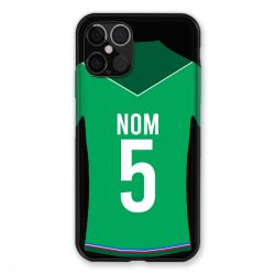 Coque Pour Iphone 12 / 12 Pro (6,1) Personnalisee Maillot Football AS Saint Etienne