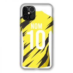 Coque Pour Iphone 12 / 12 Pro (6,1) Personnalisee Maillot Football Borussia Dortmund